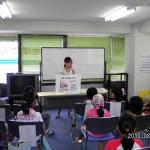 大阪経済大学学生による空気の汚れ調べ(あおぞら財団が協力)