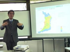 越山先生の講演