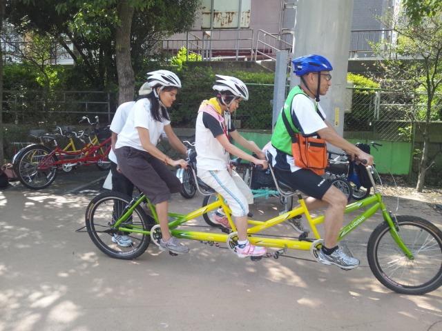 自転車の 東京 自転車 : ... タンデム自転車体験会(7/22