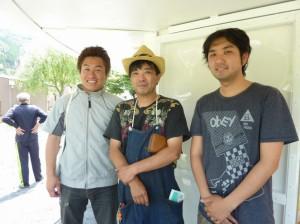 平田 3人