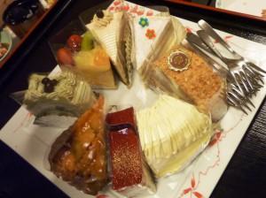 宝来館ケーキ