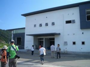 防災センター 入口