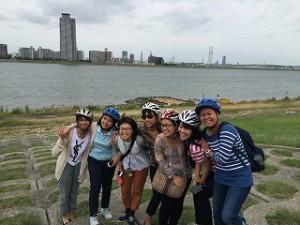 B班は淀川と一緒に。