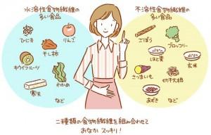 150807楽々呼吸会ブログ 食物繊維について