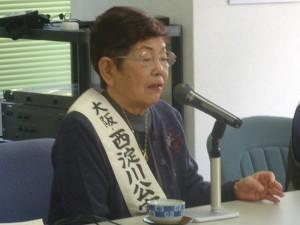 語り部の永野千代子さん