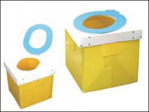 簡易トイレ オ・サンポレット