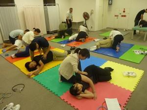 医療従事者向け「呼吸ケア・リハビリテーション講習会」の様子3
