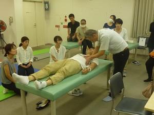 医療従事者向け「呼吸ケア・リハビリテーション講習会」の様子2