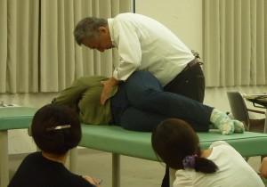 金尾先生の呼吸リハのレクチャー