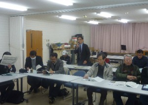 西淀川高校の門脇先生の報告