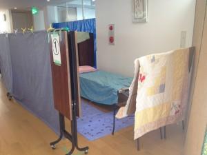 福祉避難所開設訓練の写真