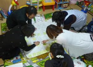 ヒヤリハットマップ作成