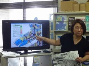 西淀川の地域区分を説明