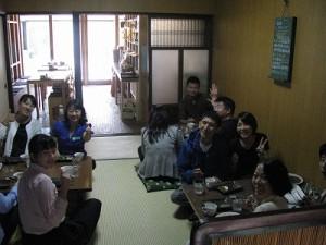 和室で皆さんリラックスされていました。