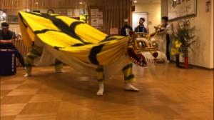 「伝統芸能『虎舞』」(撮影者 和田)