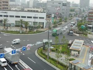 歌島橋交差点