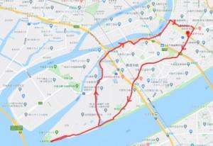 ほとんどのルートが自転車道です。ぜひ走ってみてください!